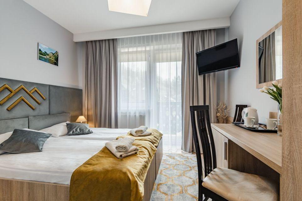 Hotel Smile Szczawnica - wnętrze pokoju dwuosobowego